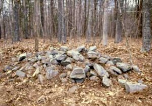 At the Jordan Site in Buckingham County, 33 stone mounds mark the spot where prehistoric Indians kept track of the seasons.