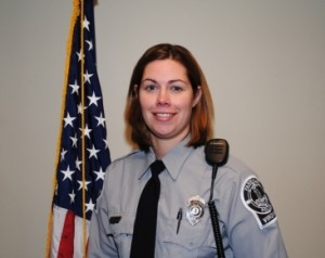 Candice Stembridge served as an officer with the Farmville and Blackstone police departments.