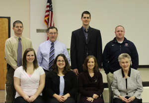 Members of the 2016 executive committee for the PEVRS are, from left, seated, Amy Rowan, Jessica Cambridge, Carol Broadwater, Nancy Haga, standing, Chris McKay, Bill Hogan, Nat Carter and Adam Wagner.