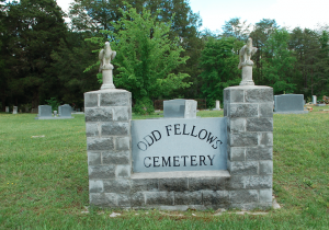 World War I memorial services were held at Odd Fellows Cemetery by the Mothers' Council on Memorial Day 1920, 1921 and 1922. The graves of three soldiers who died in the war were decorated in 1922.