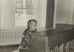 Dorothy Vaughan was a practiced pianist in addition to being a talented mathematician and former R.R. Moton High School teacher.