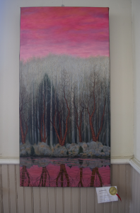 One of three oil paintings submitted by Sandy Bruton.
